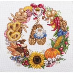 Набор для вышивания Panna СО-1578 Венок изобилия