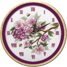 Набор для вышивания Panna Ч-1579 Часы. Цветут сады