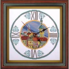Набор для вышивания Panna Ч-1580 Часы на старой ратуше