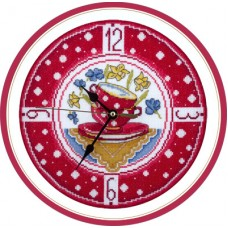 Набор для вышивания Panna Ч-1581 Часы для уютной кухни