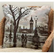 Набор для вышивания Panna ПД-1606 Лондонский дождь   (Подушка)