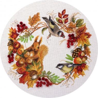 Набор для вышивания Panna ПС-1615 Осенний венок