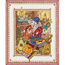 Набор для вышивания Panna СО-1618 Хозяин пыльных уголков