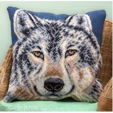 Набор для вышивания Panna ПД-1619 Подушка  Волк   (Подушка)