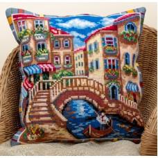 Набор для вышивания Panna ПД-1620 Подушка Венеция   (Подушка)