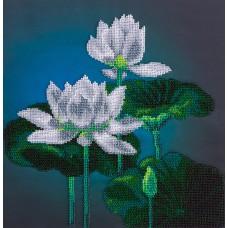 Набор для вышивания Panna БН-5004 Белый лотос