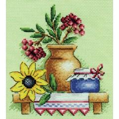 Набор для вышивания Panna Н-0515 Дары осени