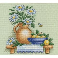 Набор для вышивания Panna Н-0514 Ромашки