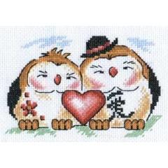 Набор для вышивания Panna И-0590 Любовь в доме