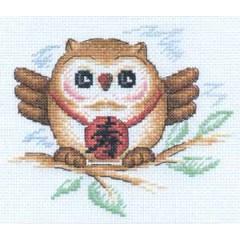 Набор для вышивания Panna И-0592 Сова (мудрость и долголетие)