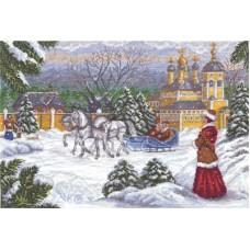 Набор для вышивания Panna ИС-1104 Русская тройка