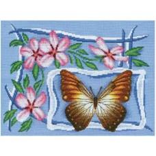Набор для вышивания Panna Б-0681 Яблоневая ветвь