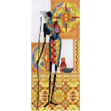 Набор для вышивания Panna НМ-0741 Африка.Материнство