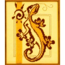 Набор для вышивания Panna Ж-0753 Ящерка