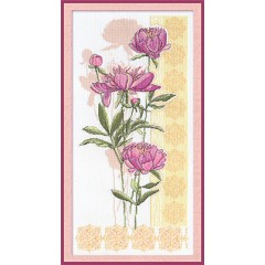 Набор для вышивания Panna Ц-0792 Цветы наших садов. Темперамент