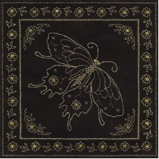 Набор для вышивания Panna О-0811 Золотая бабочка