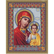 Набор для вышивания Panna ЦМ-0809 Казанская икона Богородицы