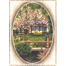 Набор для вышивания Panna ПС-0828 Японский садик