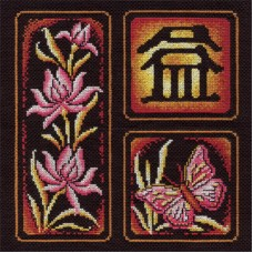 Набор для вышивания Panna И-0852 Иероглиф Приумножение