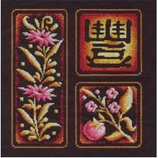 Набор для вышивания Panna И-0853 Иероглиф Изобилие