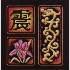 Набор для вышивания Panna И-0855 Иероглиф Возбуждение