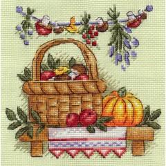 Набор для вышивания Panna Н-0873 Грибное лукошко