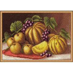 Набор для вышивания Panna Н-0916 Дыни и яблоки