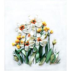 Набор для вышивания Panna Ц-0941 Нарциссы и лютики