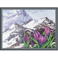 Набор для вышивания Panna Ц-0952 Альпийские цветы