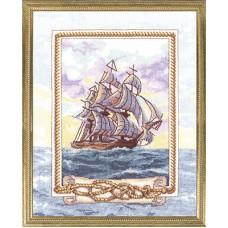 Набор для вышивания Panna КР-0949 Корабль мечты