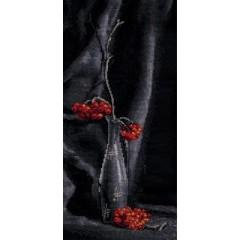 Набор для вышивания Panna Н-0964 Рябиновый ноктюрн