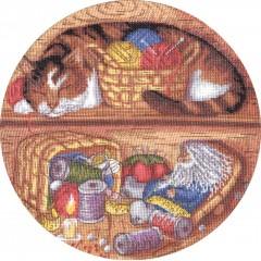 Набор для вышивания Panna СО-0984 Домовой - помощник по хозяйству