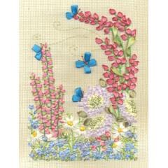 Набор для вышивания Panna Ц-0997 Цветочный мир