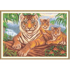 Набор для вышивания Panna Ж-1001 Логово тигра