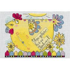 Набор для вышивания Panna ВК-1036 Начни день с улыбки