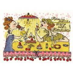 Набор для вышивания Panna ВК-1038 Прощай диета