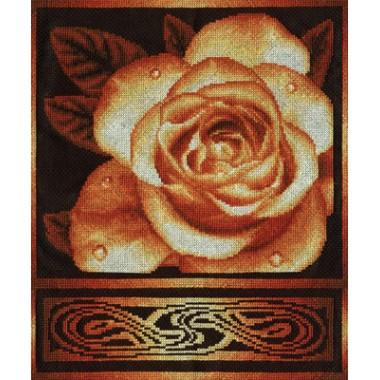 Набор для вышивания Panna Ц-1021 Золотистая роза