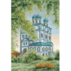 Набор для вышивания Panna ЦМ-1065 Собор в Иосифо-Волоцком монастыре
