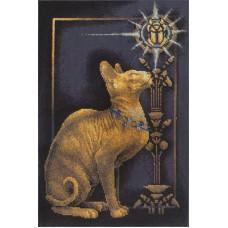 Набор для вышивания Panna К-1067 Скарабей и кошка