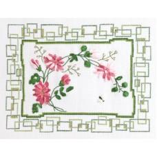 Набор для вышивания Panna Ц-1070 Хризантемы