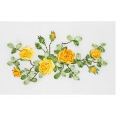 Набор для вышивания Panna Ц-1089 Желтые розы