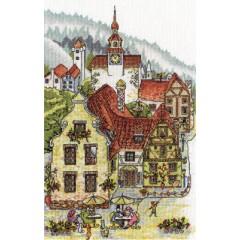 Набор для вышивания Panna ВК-1107 Мечтательный городок
