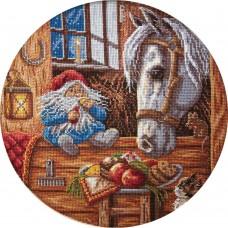 Набор для вышивания Panna СО-1128 Домовой-покровитель домашних животных