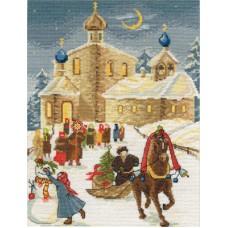Набор для вышивания Panna ПР-1147 С Рождеством!