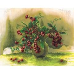 Набор для вышивания Panna Н-1191 Гроздья алых ягод