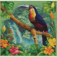 Набор для вышивания Panna ПТ-1197 У истока Амазонки