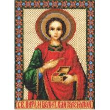 Набор для вышивания Panna ЦМ-1206 Икона Св. Великомученика и целителя Пантелеймона