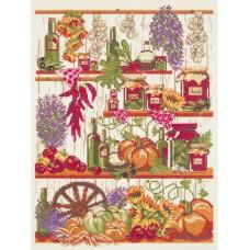 Набор для вышивания Panna КТ-7006 Кладовая осени