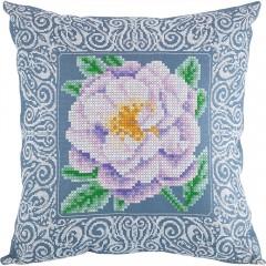 Набор для вышивания Panna ПД-1904 Бархатная роза (Подушка)