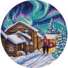 Набор для вышивания Panna ПС-1977 Северная зима